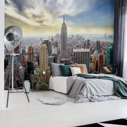 "Easy to apply wallpaper ""New York Skyline"""